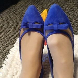 ❗NIB❗BCBG PARIS 👞 SODALITE BLUE/FRENCH FLATS 👞